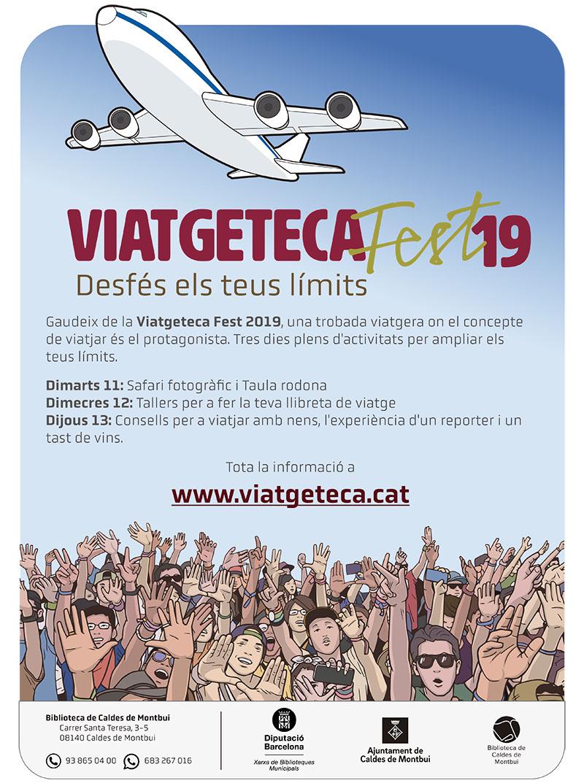 cartell Viatgeteca 2019